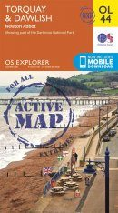 OS Explorer Map OL44: Torquay & Dawlish - Newton Abbot