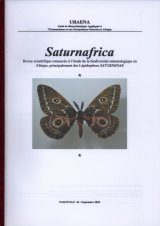 Saturnafrica, Volume 26 [French]