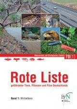 Rote Liste Gefährdeter Tiere, Pflanzen und Pilze Deutschlands, Band 1: Wirbeltiere [Red List of Endangered Animals, Plants and Fungi of Germany, Volume 1: Vertebrates]