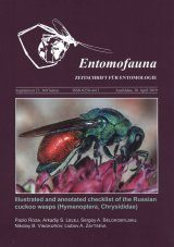 Illustrated and Annotated Checklist of the Russian Cuckoo Wasps (Hymenoptera, Chrysididae)