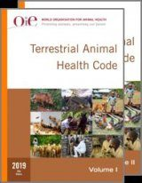 Terrestrial Animal Health Code 2019 (2-Volume Set)