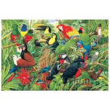 Birds Of Costa Rica 1,000-piece Jigsaw Puzzle