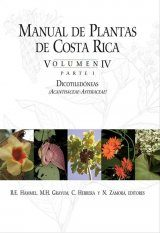 Manual de Plantas de Costa Rica: Volumen 4, Parte 1