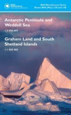 Antarctic Peninsula and Weddell Sea / Graham Land and South Shetland Islands (Map)