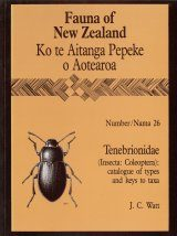 Fauna of New Zealand, No 26: Tenebrionidae (Insecta: Coleoptera)