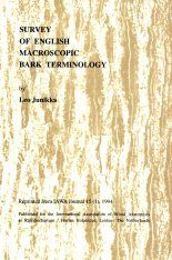 Survey of English Macroscopic Bark Terminology