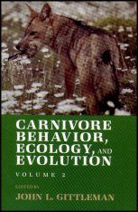 Carnivore Behaviour, Ecology and Evolution, Volume 2 Image