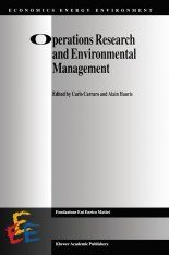 Operations Research and Environmental Management