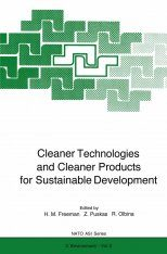 Cleaner Technologies and Cleaner Products for Sustainable Development