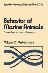 Behavior of Marine Animals, Volume 2: Vertebrates