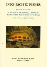 A Revision of the Odacidae, a Temperate Australian-New Zealand Labroid Fish Family