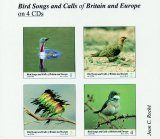 Bird Songs and Calls of Britain and Europe (4CD)