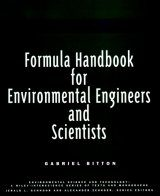 Formula Handbook for Environmental Engineers and Scientists Image