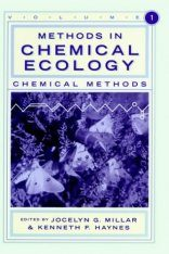 Methods in Chemical Ecology, Volume 1: Chemical Methods Image