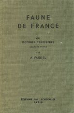 Faune de France, Volume 66: Isopodes Terrestres (Part 2)