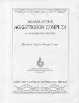 Snakes of the Agkistrodon Complex: A Monographic Review [Plate Section Only]