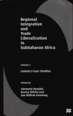 Regional Integration and Trade Liberalization in Subsaharan Africa, Volume 2: Country Case Studies Image