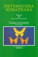 Heterocera Sumatrana, Volume 10 (Green Book): The Saturniidae of Sumatra (Lepidoptera)
