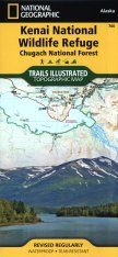 Alaska: Map for Kenai National Park and Chugach National Forest