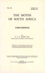 The Moths of South Africa, Volume 7 (1964): Limacodidae