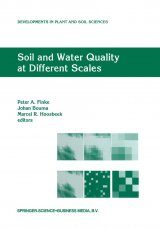Soil and Water Quality at Different Scales