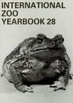 International Zoo Yearbook 28: Reptiles and Amphibians