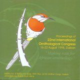 Proceedings of the 22nd International Ornithological Congress held in Durban, South Africa, 1998: Abstracts of Oral Presentations and Posters