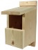 Traditional Open Fronted Wooden Bird Nest Box