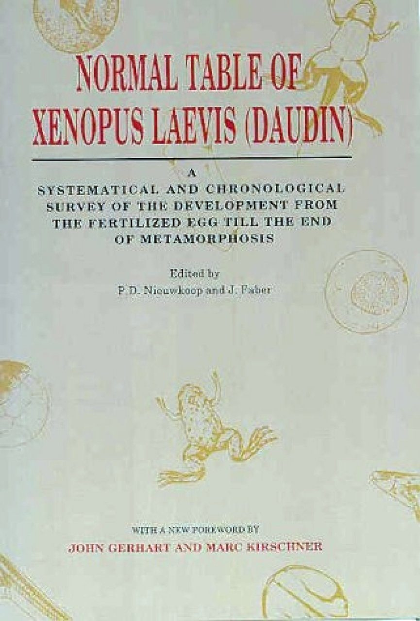 Normal Table of Xenopus Laevis (Daudin)