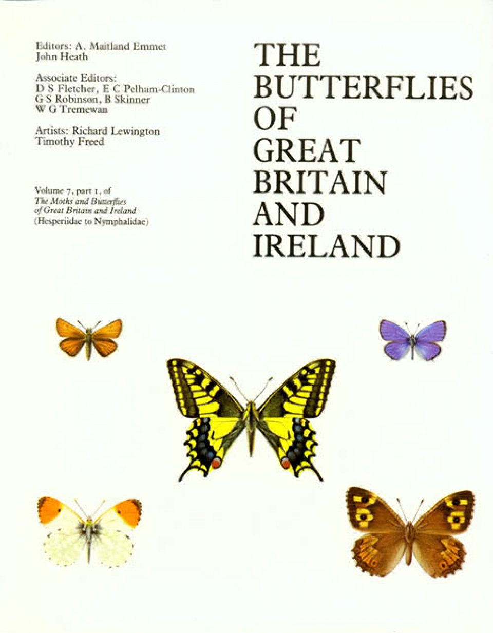 The Moths and Butterflies of Great Britain and Ireland, Volume 7, Part 1
