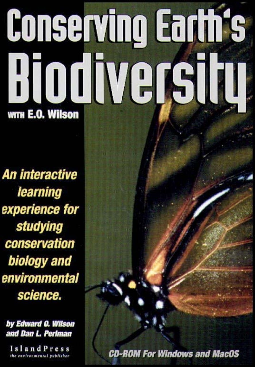 Conserving Earth's Biodiversity with EO Wilson