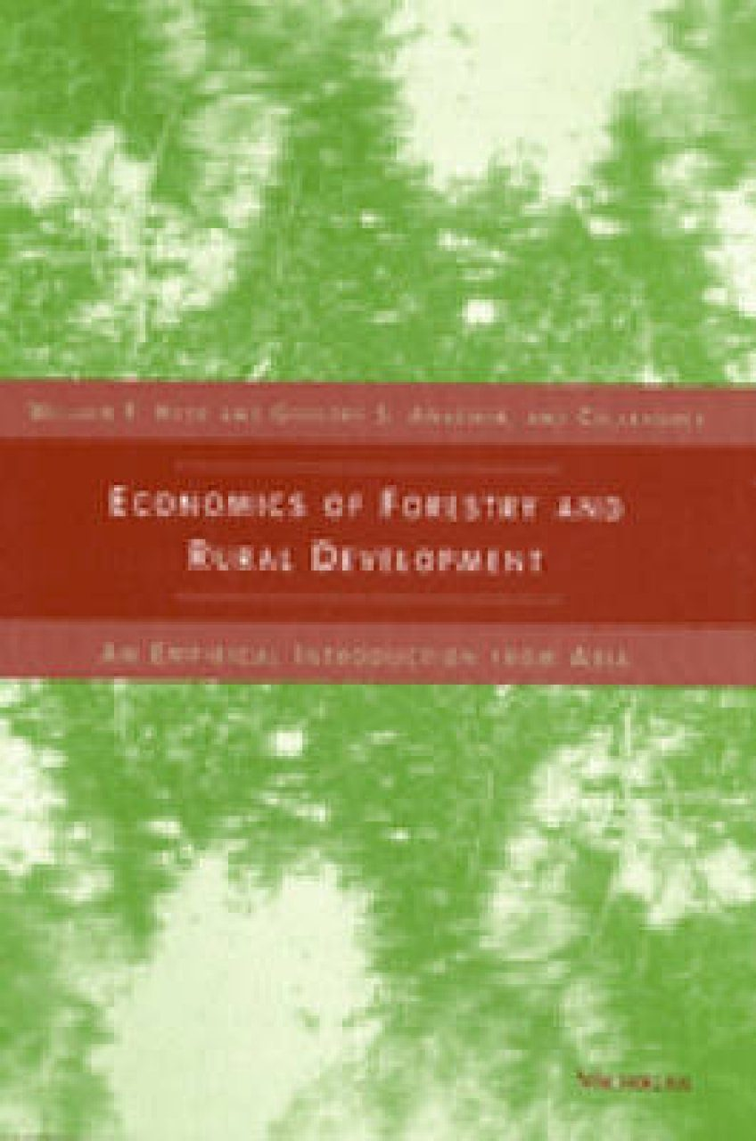 Economics of Forestry for Rural Development