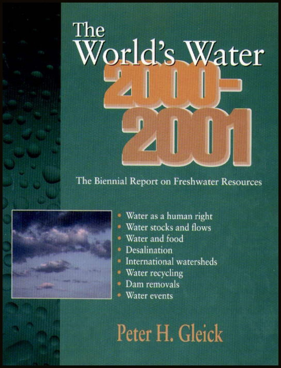 The World's Water 2000-2001