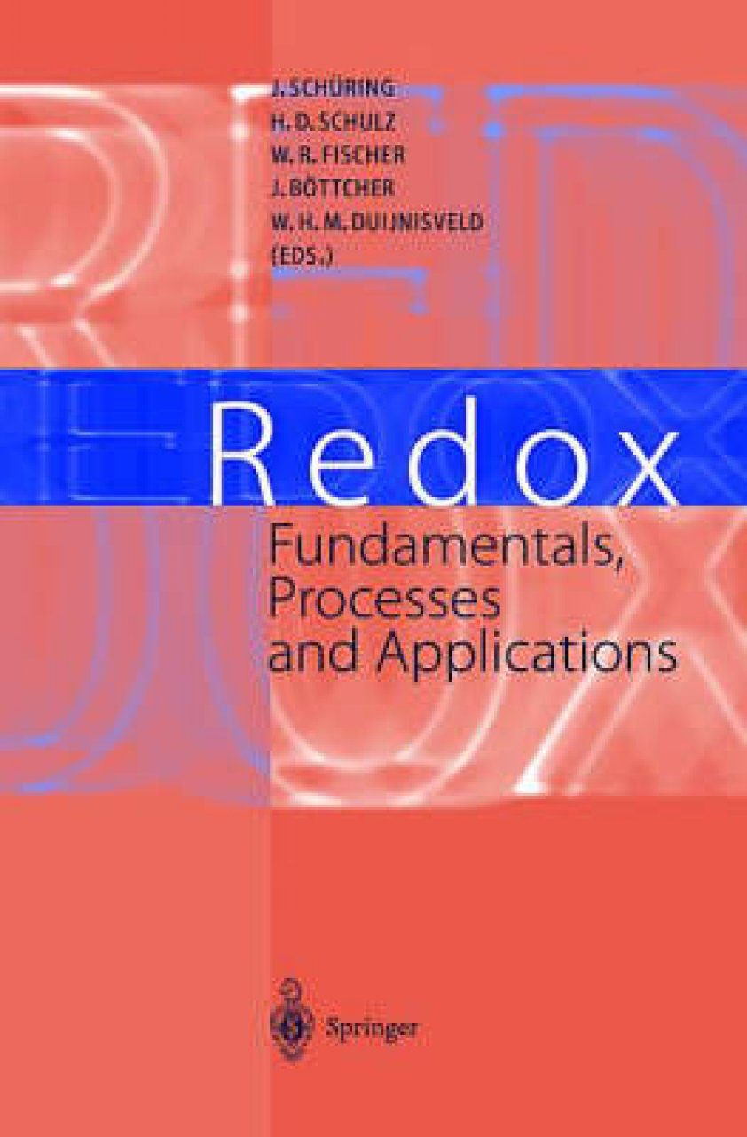 Redox: Fundamentals, Processes and Applications