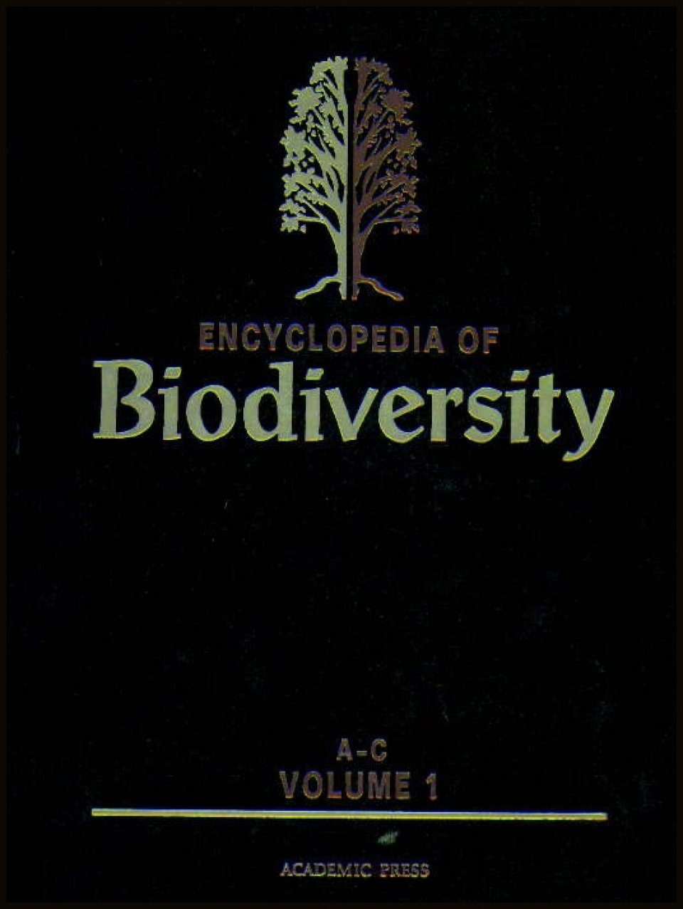 Encyclopedia of Biodiversity (5-Volume Set)