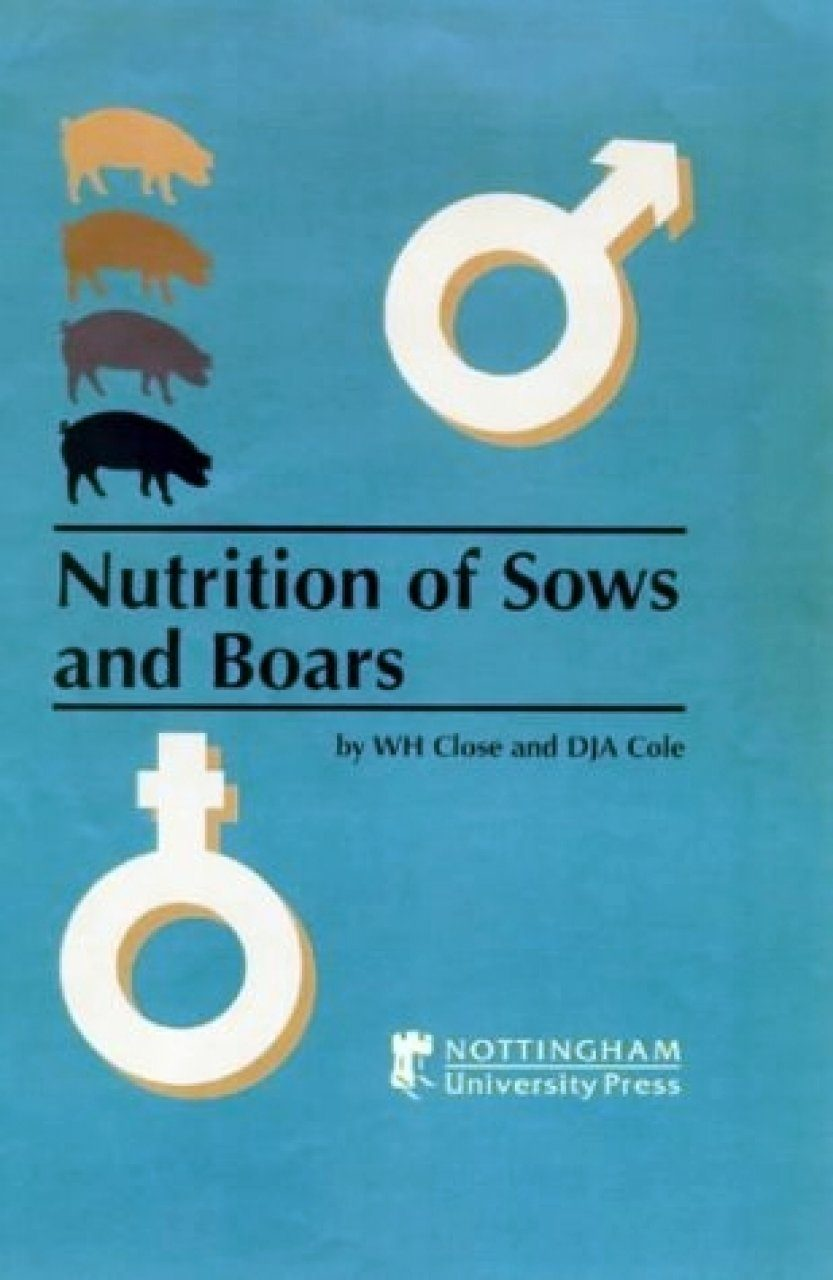 Nutrition of Sows and Boars