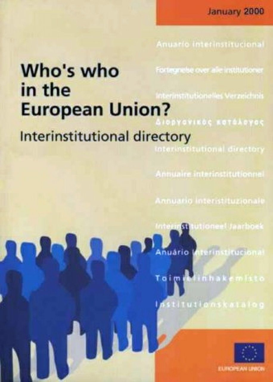 Who's Who in the EU? 2000/1