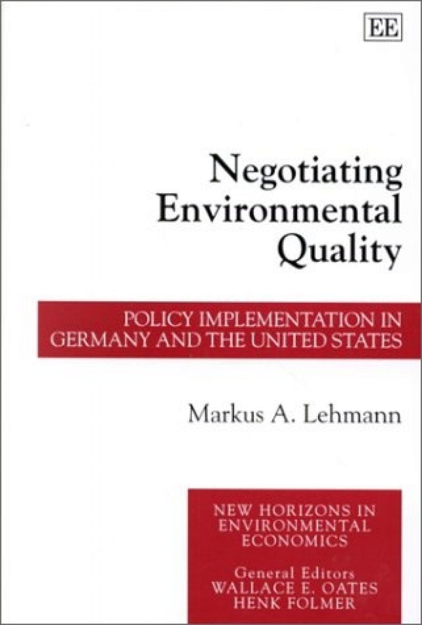 Negotiating Environmental Quality