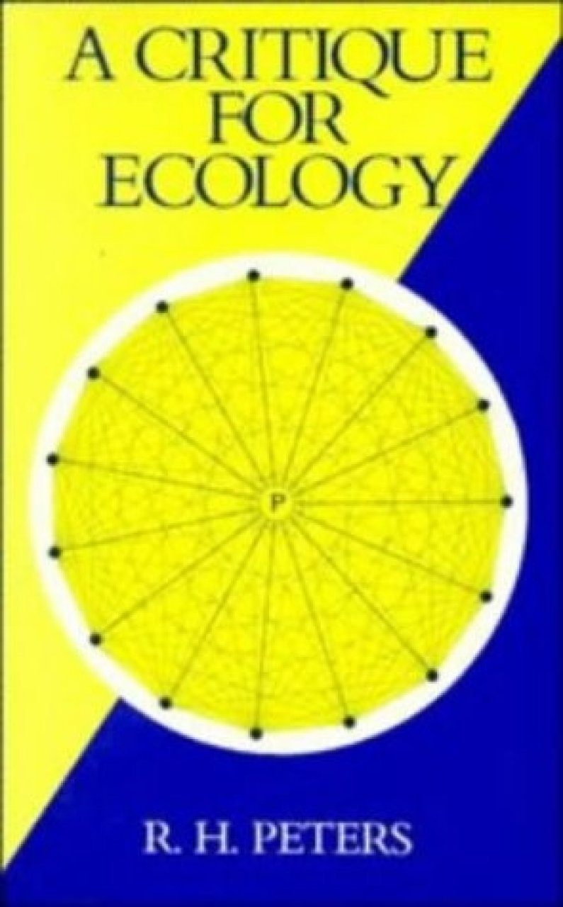 A Critique for Ecology