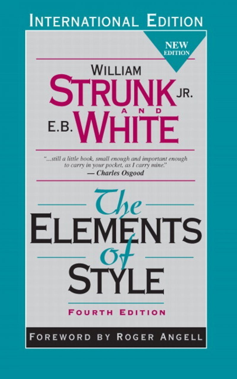 The Elements of Style (International Edition)