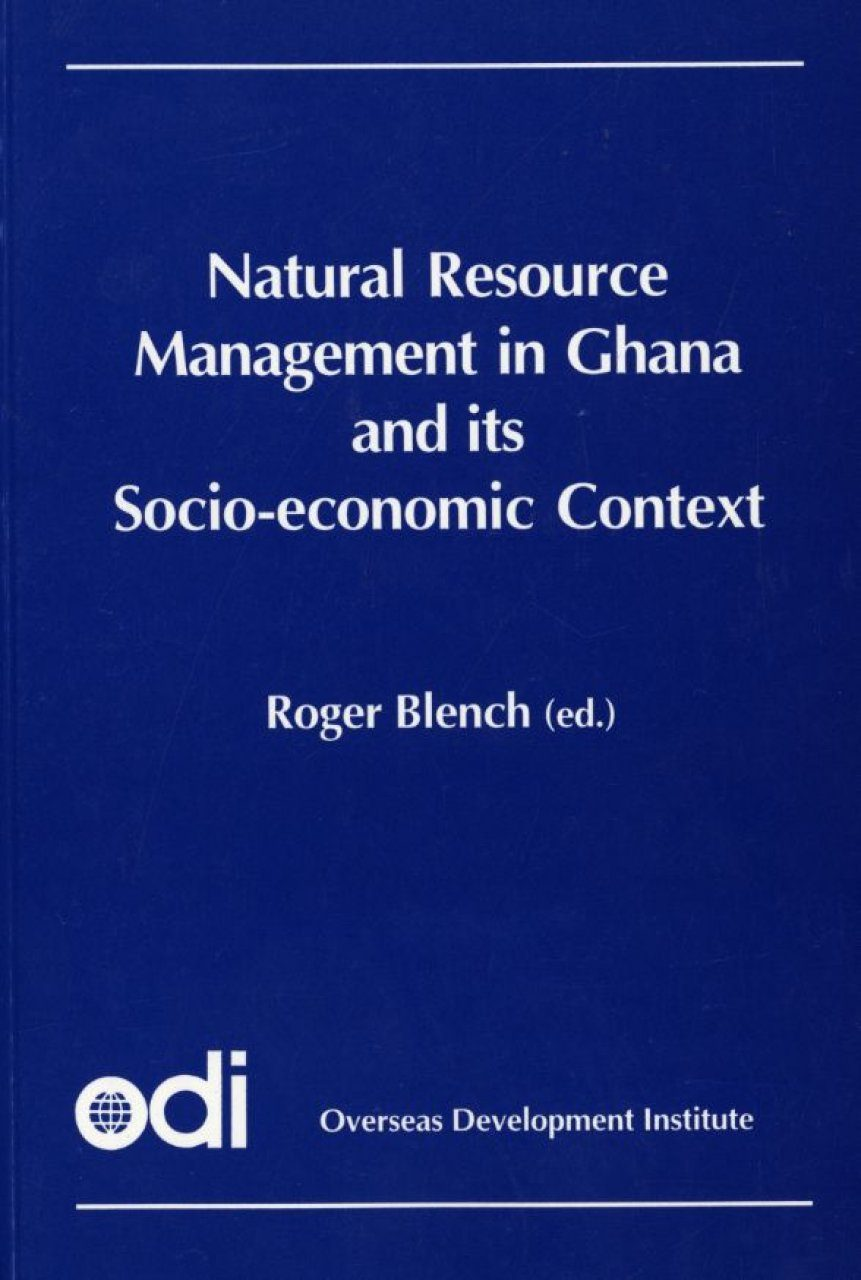 Natural Resource Management in Ghana and its Socioeconomic Context