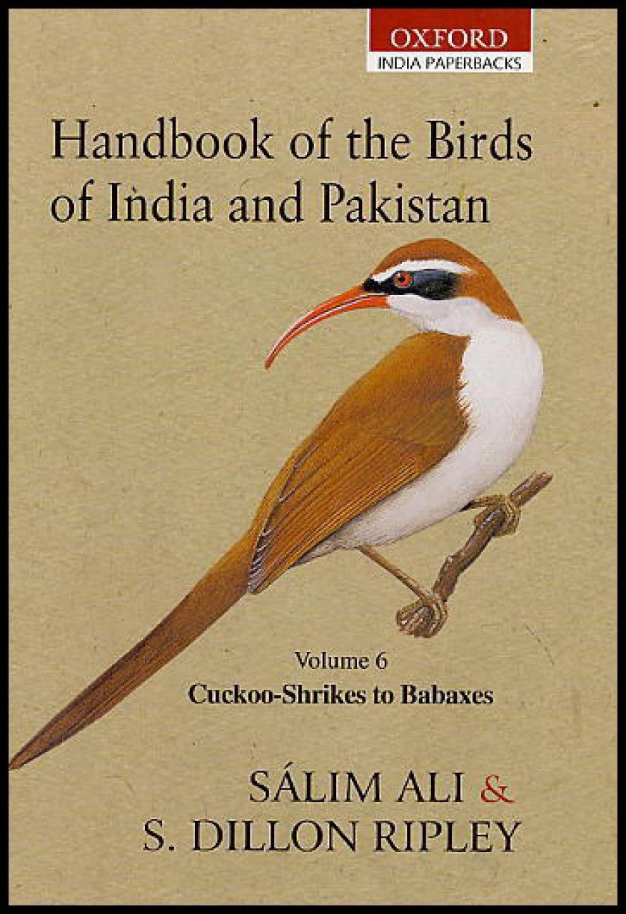 Handbook of the Birds of India and Pakistan, Volume 6