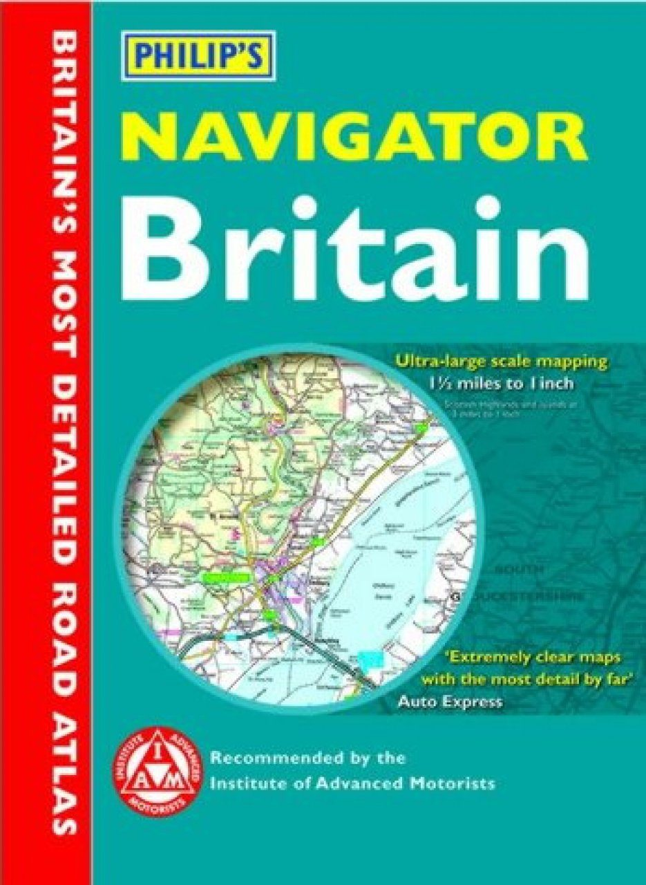 Philip's Navigator Road Atlas of Britain