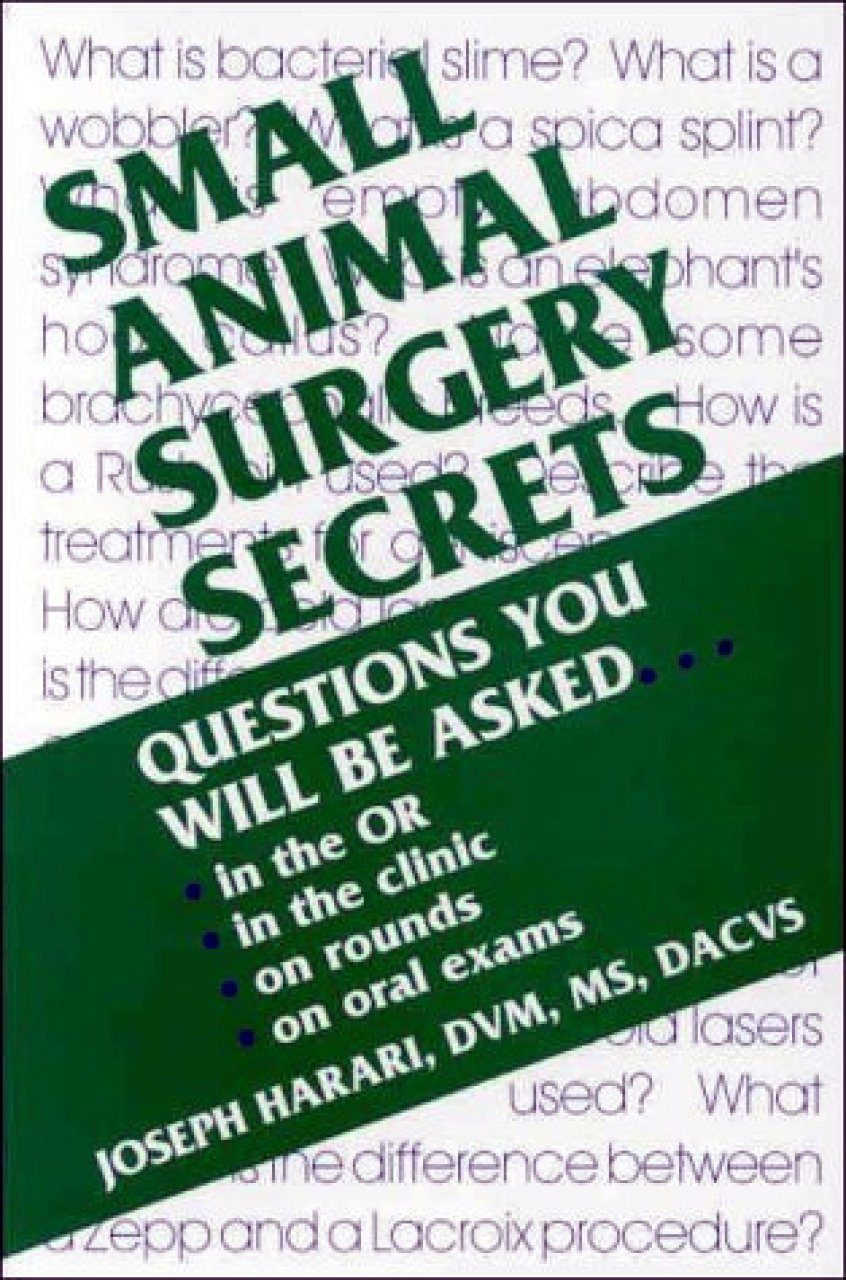 Small Animal Surgert Secrets