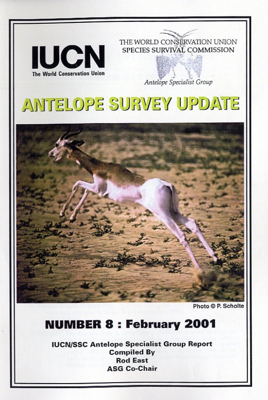 Antelope Survey Update, Number 8: February 2001