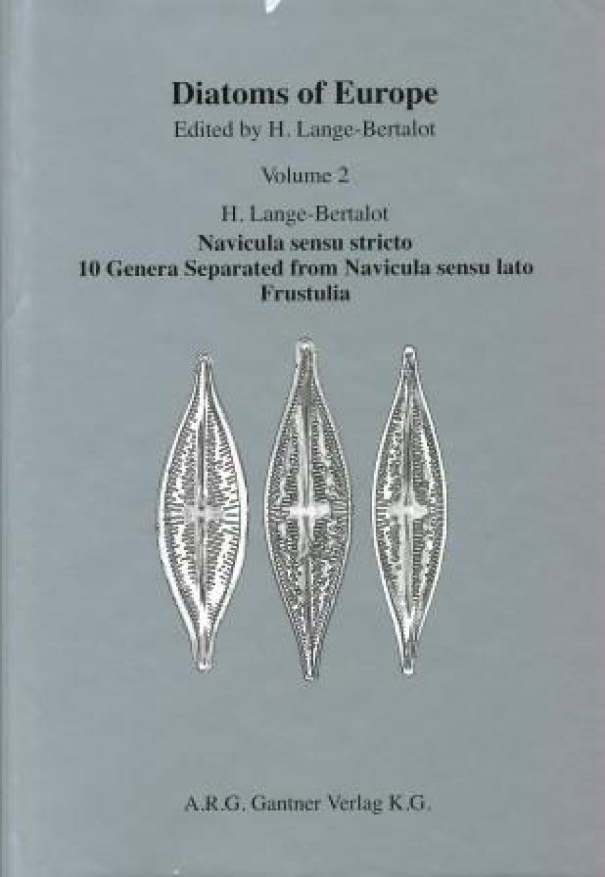 Diatoms of Europe, Volume 2: Navicula Sensu Stricto, 10 Genera Separated from Navicula Sensu Lato, Frustulia