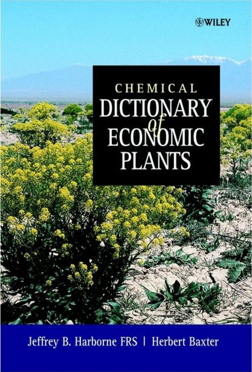 Chemical Dictionary of Economic Plants