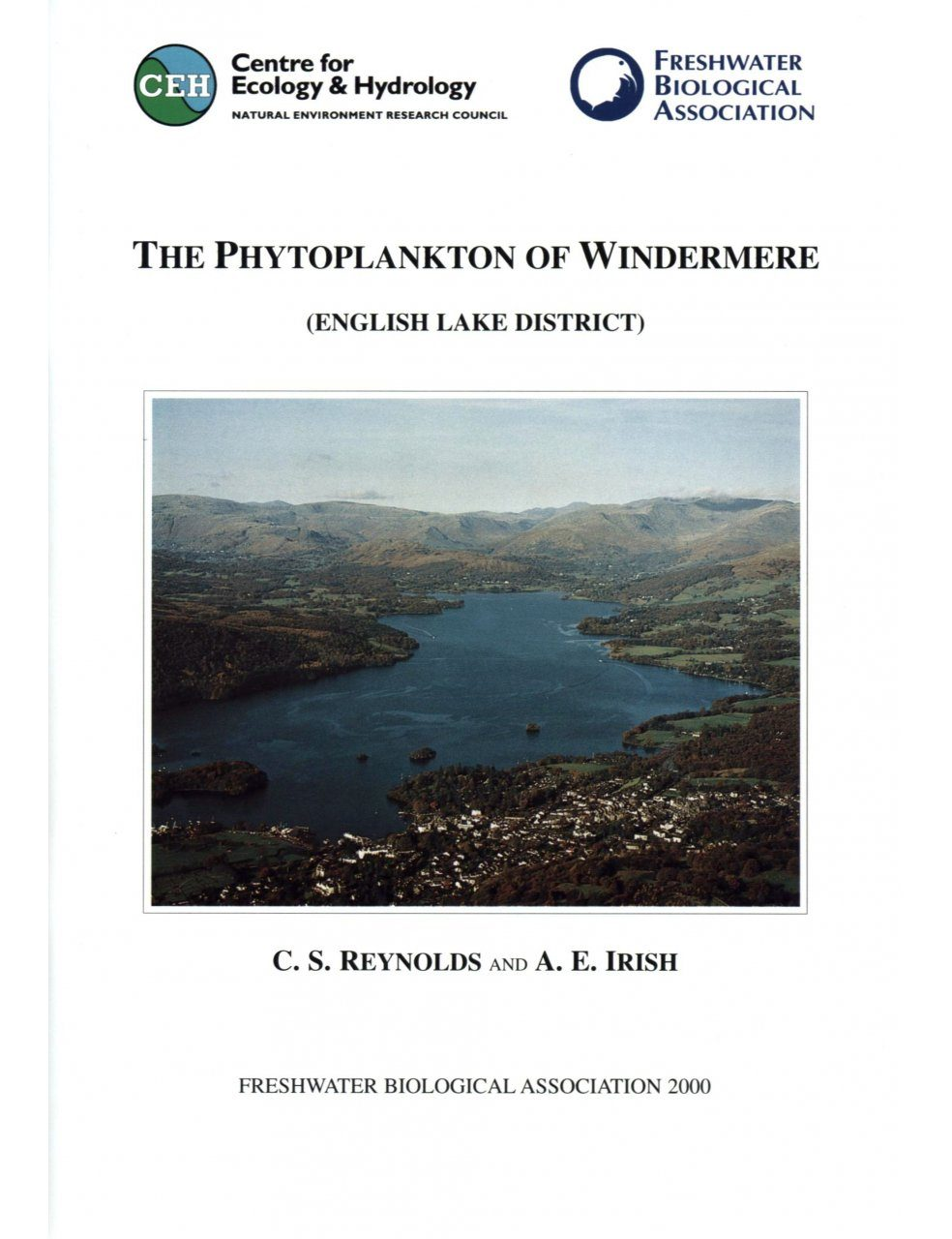The Phytoplankton of Windermere (English Lake District)
