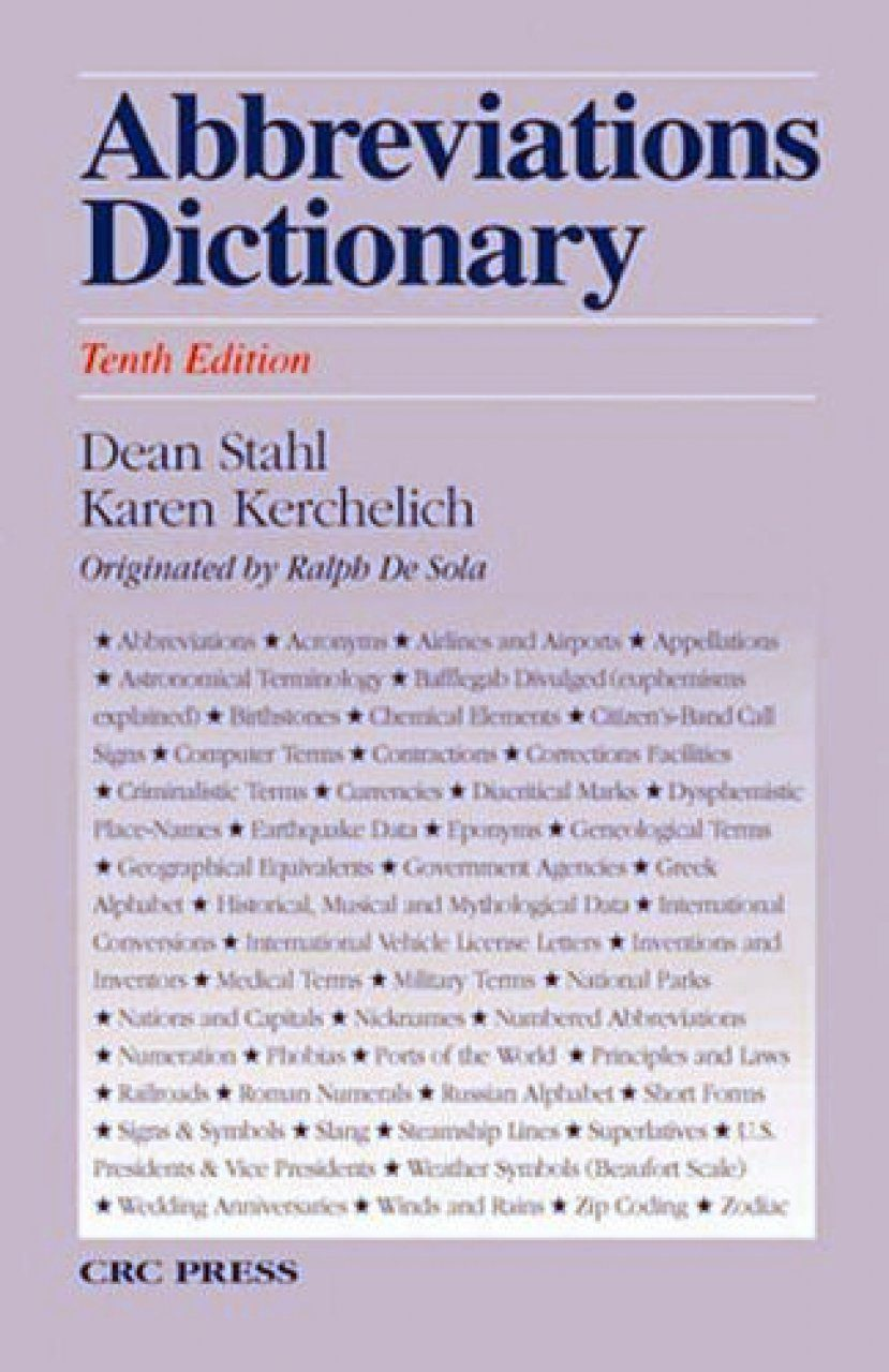 Abbreviations Dictionary