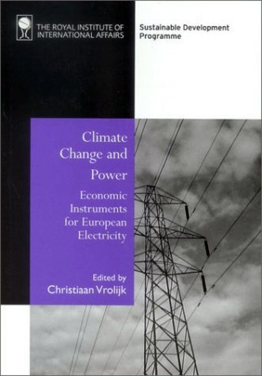 Climate Change and Power: Economic Instruments for European Electricity
